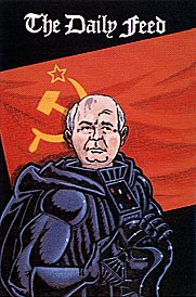 87 Newsreel Cover Art: Darth Gorbachev